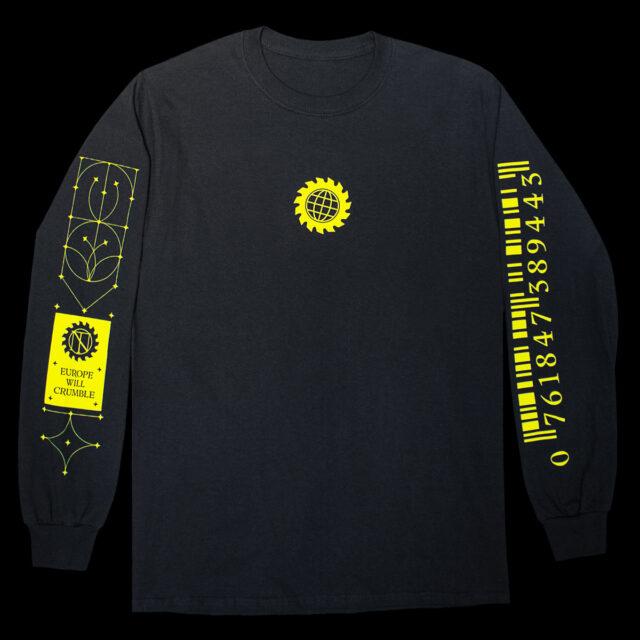 Hatari Merchandise Neyslutrans Black Longsleeve Front