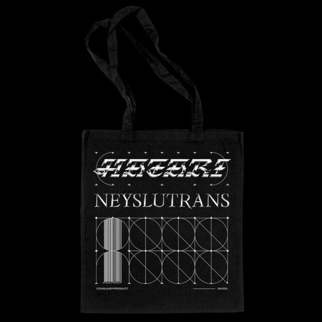 Hatari Merchandise Neyslutrans Canvas Tote Bag